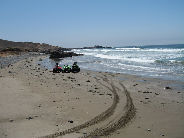 Cabras, Baja. With family