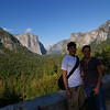 "kim and i, at  the ""tunnel view"""