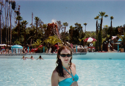 Raging Waters water park.