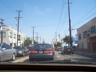 Saturday: The traffic.