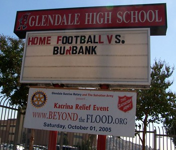 Monday: The sign outside of GHS.