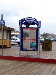 The Santa Monica Pier!