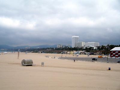 The beach again.