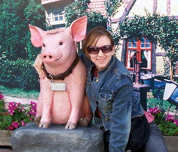 Me and Babe the Pig!