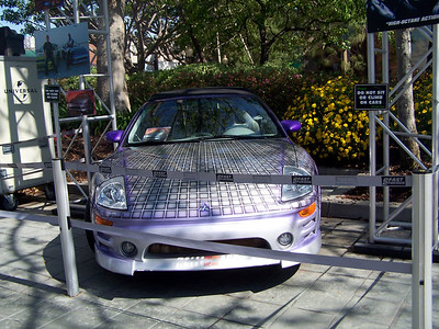 Oh look a car.