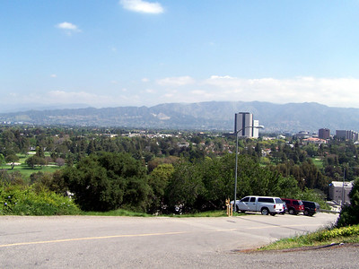 A look at the San Fernando valley.