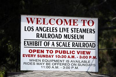Travel Town Museum/LA Live Steamers Railroad Museum, Griffith Park, LA, CA.