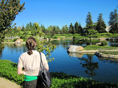 The Japanese Gardens, Van Nuys, CA.