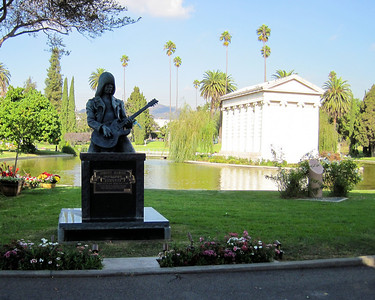 Hollywood Forever Cemetery, Hollywood, CA.