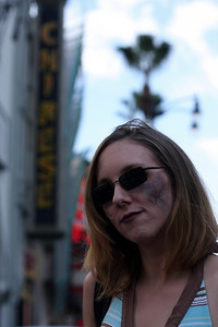 Zombie-ing it up in Los Angeles, CA.