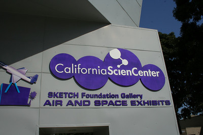 California Science Center & Rose Garden, Los Angeles, CA.