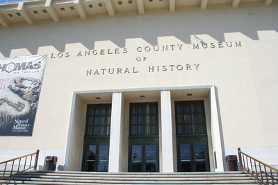 LA County Museum of Natural History.