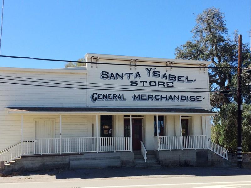August 30, 2015 - Santa Ysabel Store / Santa Ysabel, San Diego County, California) -- Santa Ysabel General Merchandise Store