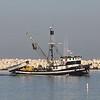 August 27, 2015 - (Ventura Harbor / Ventura, Ventura County, California) -- Fishing Boat