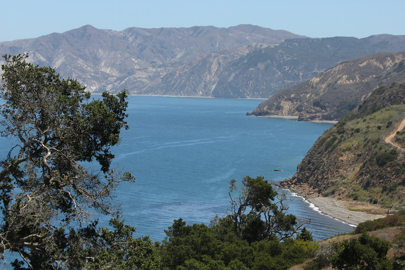 June 26, 2012 (Channel Islands National Park / Santa Cruz Island, Santa Barbara County, California) -- Scenic vista