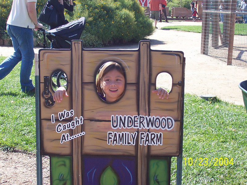 EMI AT THE UNDERWOOD FARM