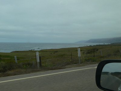 Drive from Cambria to Monterey 7/21/08