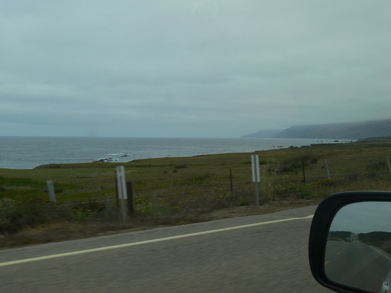Leaving Cambria we are still on the gentile sloping plains. California has a diverse, rapidly changing, coastline.