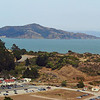 Angel Island. I used to sail in this area and anchored overnight on the far side of this island.
