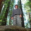 A peek at the size of the trees behind Keith.