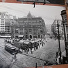 Pioneer Square in an old photo.