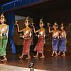 Apsara dancers at Angkor Mondial Restaurant