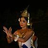 Apsara dancer at Angkor Mondial Restaurant