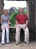 Taking a break at Angkor Thom