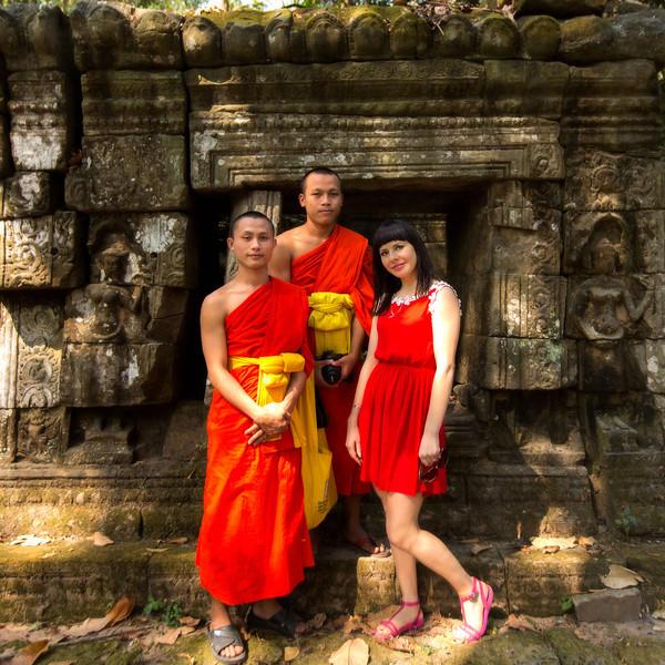 Monks Ta Prohm