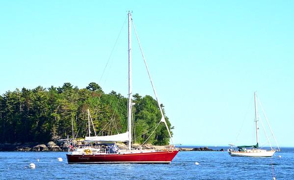 Camden Bay Schooner Trip