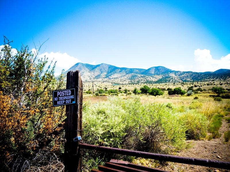 Vera Cruz Mountain, NM