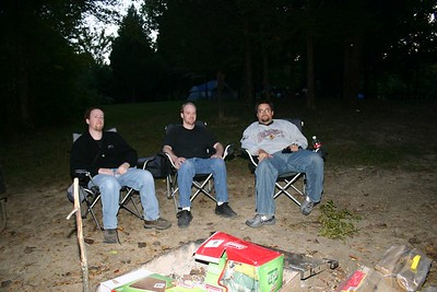 Camping: Giant City 10-07-05