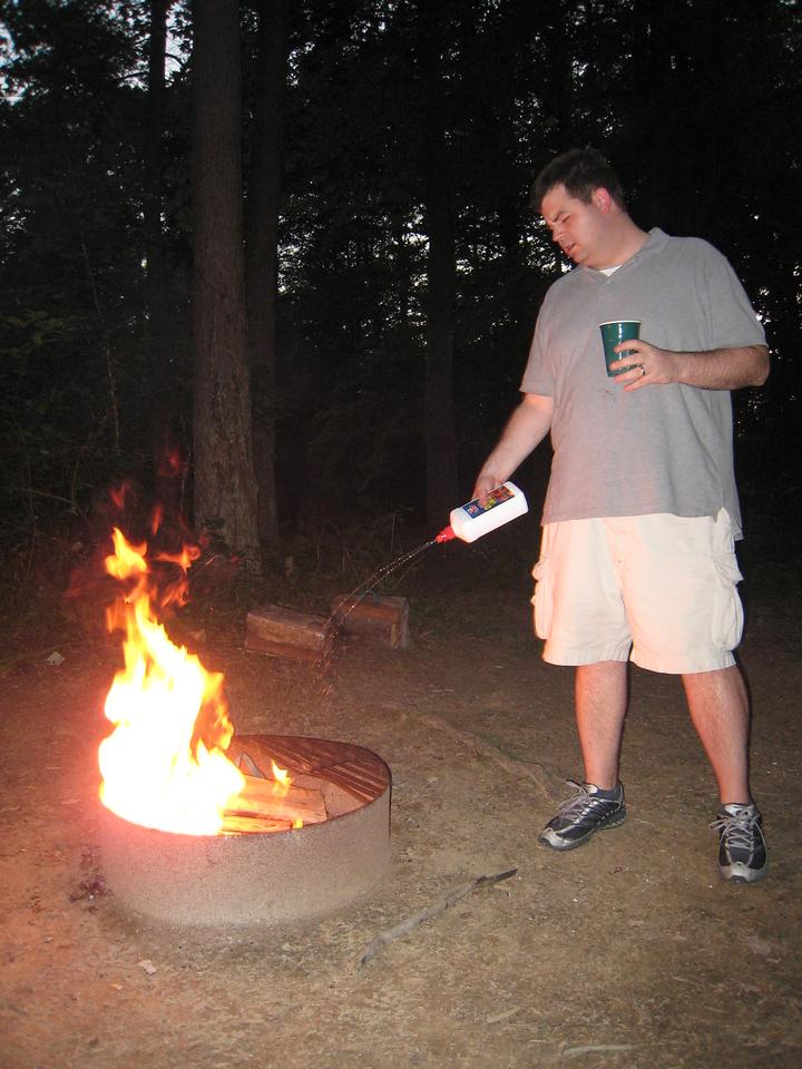 Hocking Hills Camping Trip 2008 046