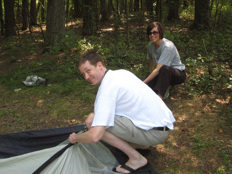 Hocking Hills Camping Trip 2008 002