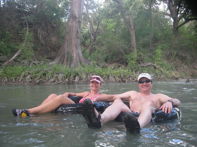 Camping and Tubing - San Marcos: June 2010