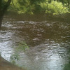 More of the Schroon river right by the campsite.