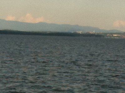 On the ferry to VT.
