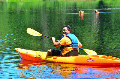 David on the kayak