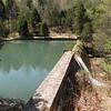 Dam and spillway