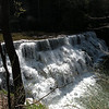 Waterloo Falls is about 35 ft high and is on Spring Creek