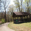 Picnic pavilion at the scenic overlook <br /> Standing Stone State Park TN
