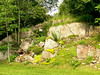 The original rock garden matures - WOW!