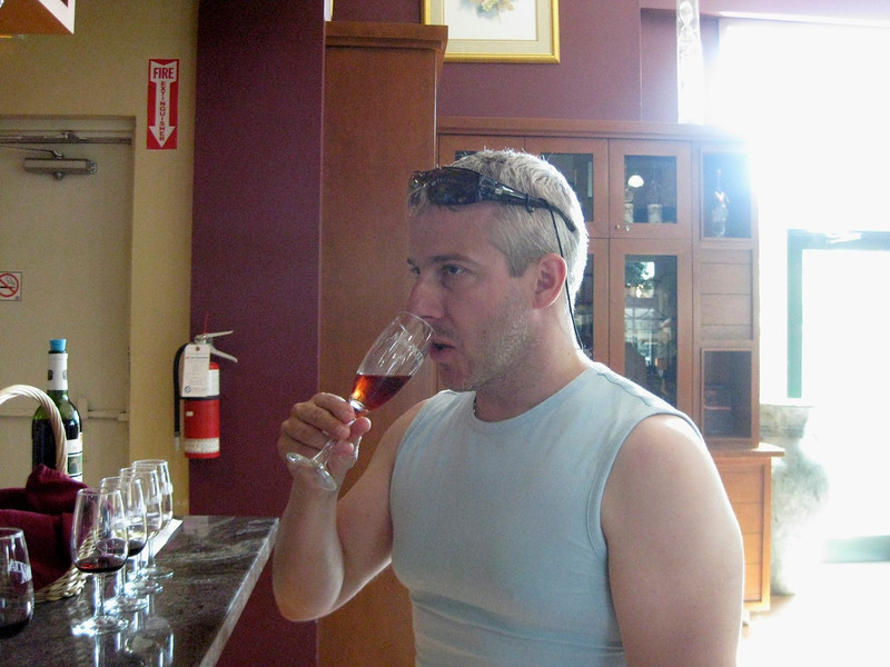 Magnotta wine tasting