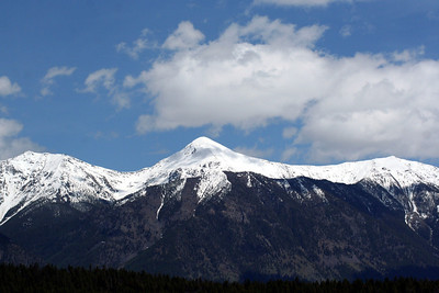 There was a lot of snow on the Mts still.  This was the middle of June.