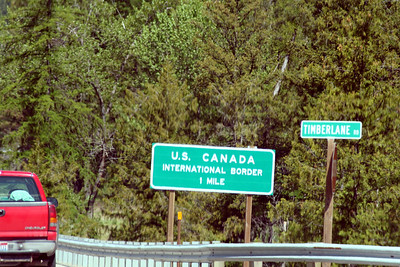 We have almost made it to the Canada border.