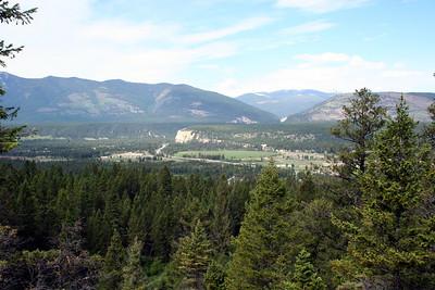 The scenic Columbia Valley.