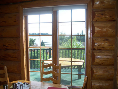 View of Lac LaRonge from the breakfast nook.