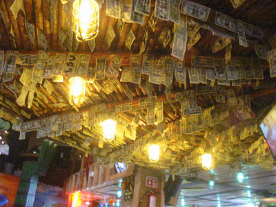 The ceiling of Margaritaville could pay for my vacation
