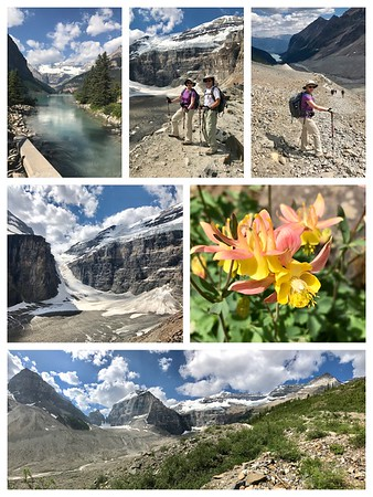 Another day of amazing hiking...Lake Louise and the Plain of Six Glaciers never disappoint