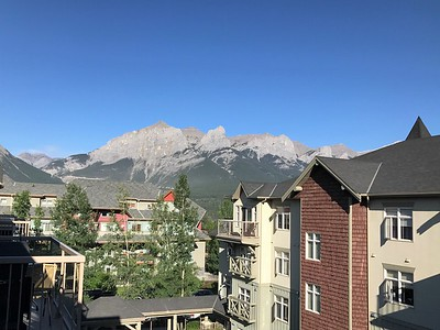 Good morning from beautiful Canmore